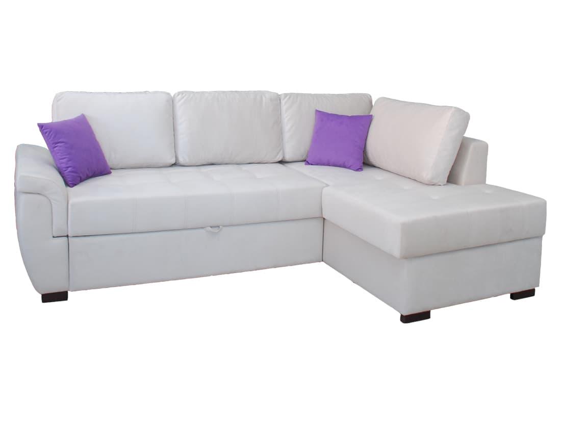 Раздвижной угловой диван Tokio C31 White