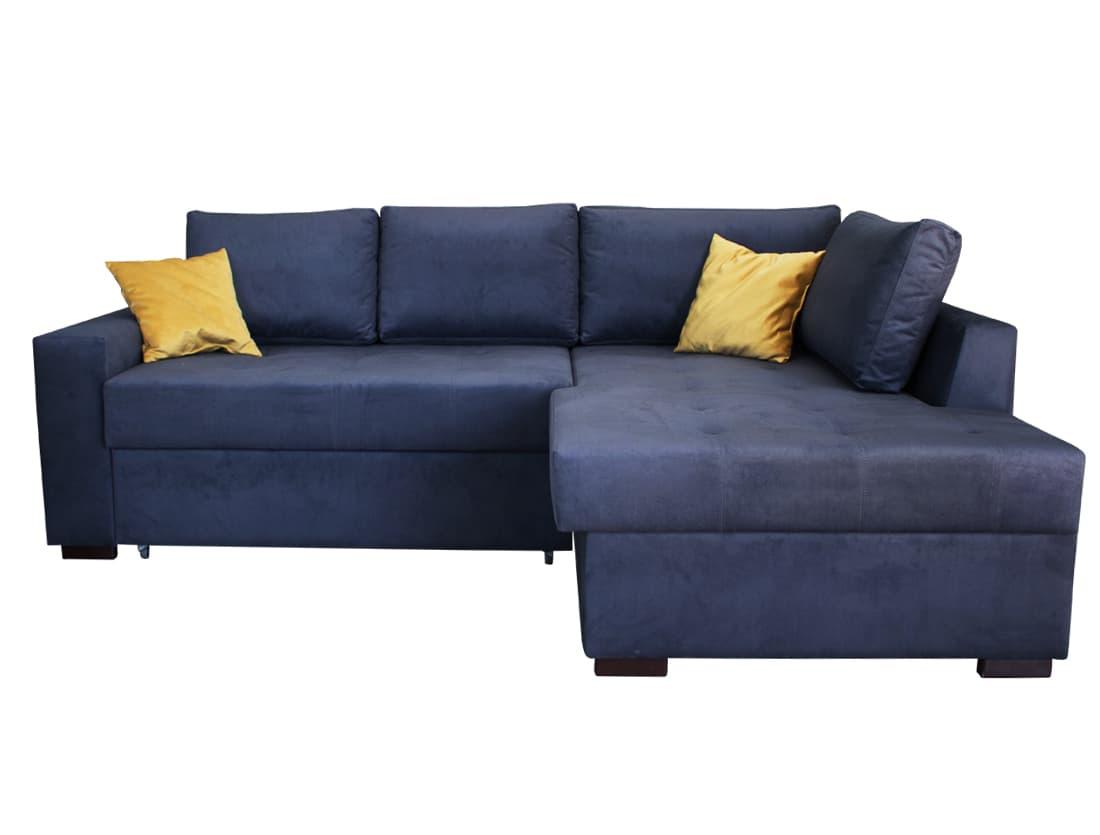 Раздвижной угловой диван Tokyo C3 Dark  Blue